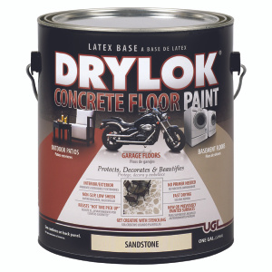 UGL 22713 Drylok Sandstone Latex Based Concrete Floor Paint Gallon