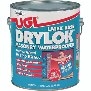 UGL 27513 Drylok White Masonry Waterproofer Gallon Water Based