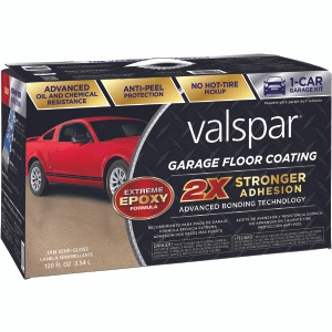 Valspar 1081021 Coating Garage Floor VOC Tan Epoxy