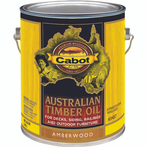 Cabot Valspar 3457 Gallon Amber Australian Timber Oil