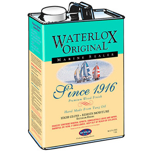 Waterlox 13809 Gallon Medium Sheen Marine Sealer