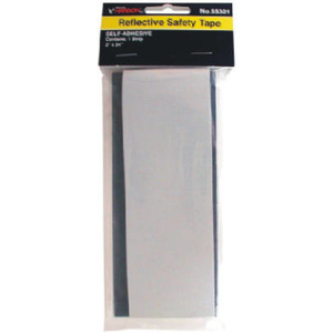 Hanson 55301 2 By 24 White Silver Reflective Safety Tape