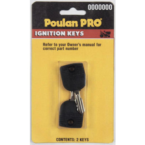 Poulan PP60005  531307226 Replacement Ignition Key