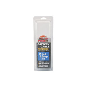 Coleman Cable 15-6 Maximum Energy 15 Inch Top Post Cables
