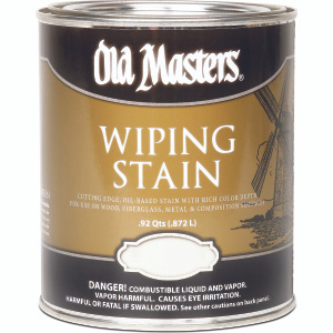Old Masters 11304 Stain Wiping Interior Exterior Cherry Quart
