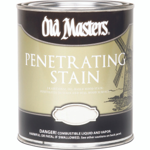 Old Masters 41316 Stain Wood Interior Fruitwood 1/2 Pint