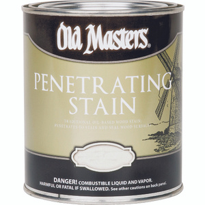 Old Masters 41516 Stain Wood Interior Puritan Pin 1/2 Pint