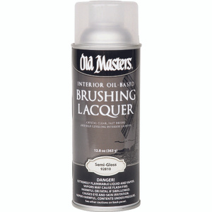 Old Masters 92810 Semi Gloss Lacquer Brushing Oil Spray