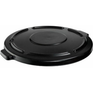 Rubbermaid Commercial 264560BLK Brute 24 12 By 1 1/2 Gray Plastic Refuse Lid