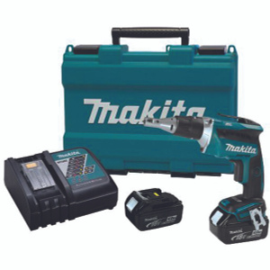 Makita XSF03MB/XSF03M 18 Volt LXT Lithium-Ion Brushless Cordless Drywall Screwdriver Kit