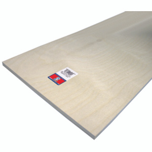 Midwest Products 5336 1/2X12x24 Birch Plywood