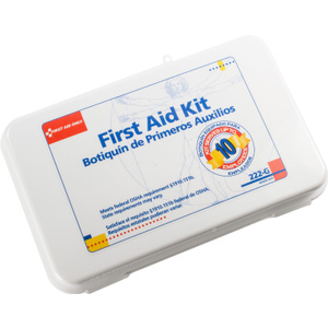 First Aid Only 222-G General Purpose First Aid Kit For 10 Up To People