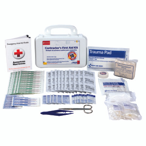First Aid Only 9301-25P Contractor First Aid Kit 25 Person