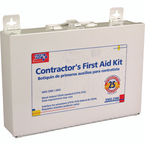 First Aid Only 9302-25M First Aid Stafta Kit 25Per Metal