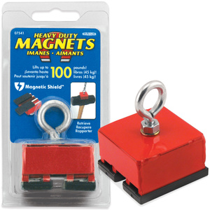 Master Magnetics 07541 Red Heavy Duty Magnetic Base