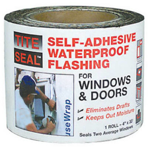 CPI TS 433 4 Inch By 33 Foot Tite Seal Flashing