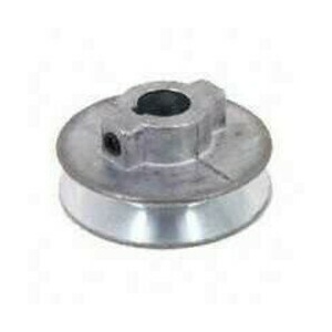 Chicago Die Casting 450A 1/2 By 4 1/2 Inch Single V Grooved Pulley