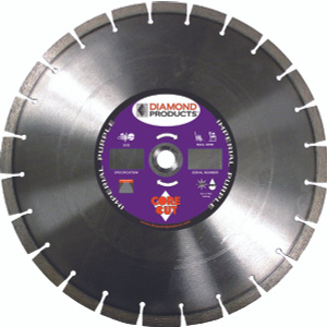 Diamond Products 78976 14 Inch By.125 Inch Universal Purple Segmented Blade