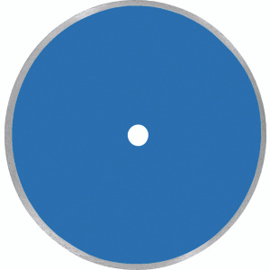 Diamond Products 80016 10 Inch By.060 Inch By 5/8 Inch Arbor Blue Dry Tile Blade