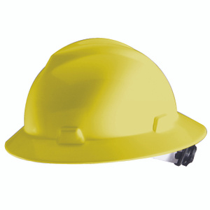 Safety Works 10012241 Full Brim Hard Hat Yellow