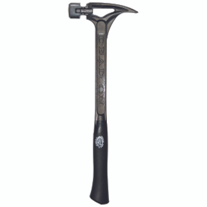 Maasdam DOS22M-HD 22 Ounce Steel Milled Face Hammer 18 Inch