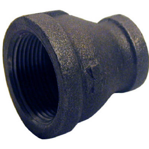 PanNext Fittings B-RCP1207 1-1/4 By 3/4 Inch Black Pipe Reducing Coupling