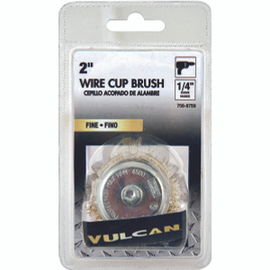 Vulcan 321151OR Cup Brush 1/4 Inch Shank 2 Inch Fine