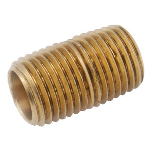 Anderson Metal 38300-1655 1 By 5-1/2 Inch Brass Nipple