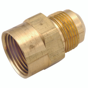 Anderson Metal 54746-1512 15/16 By 3/4 Inch Flare Couplings