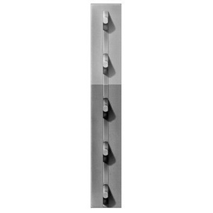 Chicago Heights Steel FRPT12500050Y50 1.25 By 5 Gray Stud T Post