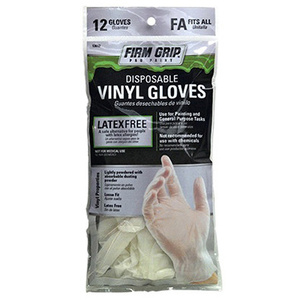 Big Time Products 13612-26 Disposable Vinyl Paint Gloves One Size 12 Pack