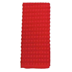 J & M Home 7462 16X26 RED Kitch Towel