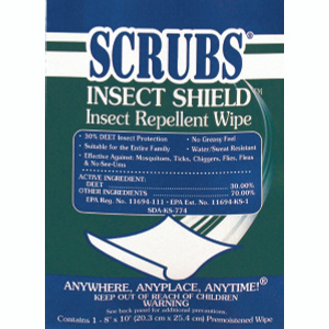 Scrubs 91401 Insect Repellant Towels