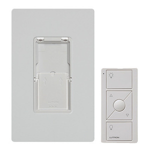 Lutron PJ2-WALL-WH-L01 Pico Remote Control With Wall Mounting Kit White