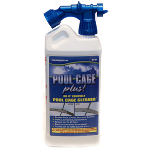 Pool Cage Plus W-1 40 Ounce Pool Cage Cleaner