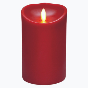 Veraflame E03568C-R Candle 5 Inch Moving Flame