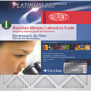 Protect Plus AF-P1224 Dupont Maximum Allergen Electrostatic Filter 12 Inch By 24 Inch By 1 Inch