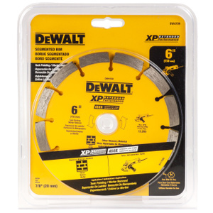 DeWalt DW4739 6 Inch Diamond Tuck Point Segmented Rim Blade