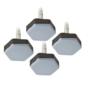 Stanley National S845-562 Stanley 1-1/2 Inch Screw-On Appliance Furniture Sliders Pack Of 4