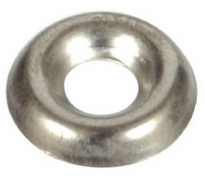 Hillman 310170 Finishing Washers #8 Nickel Plated 100 Pack