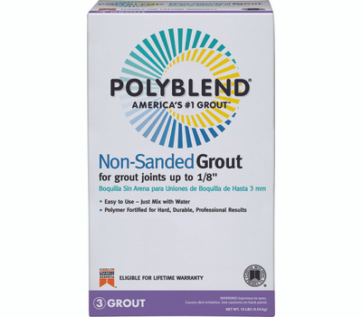 Custom Building Products PBG38010 Polyblend Grout Nonsand Haystack 10 Pound
