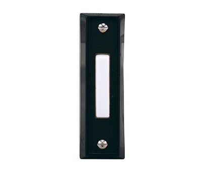 HeathCo SL-664-03 BLK Wired Push Button