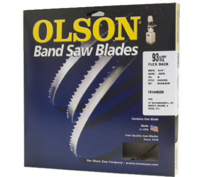 Olson Saw FB23193DB 93-1/2 By 1/2 Inch 3 TPI Band Saw Blade