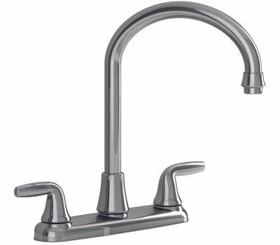 American Standard 9316451.002 Jocelyn 2 Handle Arched Kitchen Faucet With Spray Chrome