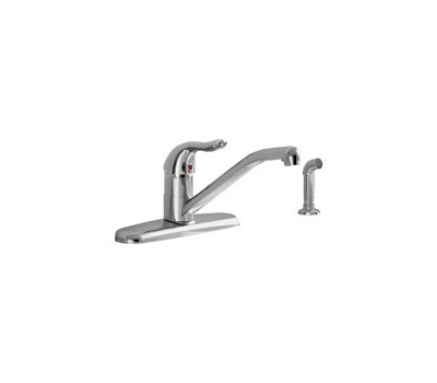 American Standard 9316001.002 Jocelyn Single Handle Pulldown Faucet With Spray Chrome