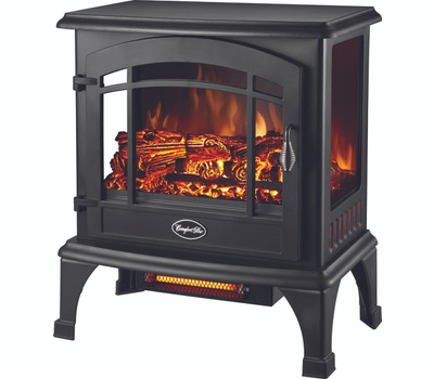 World Marketing EQS5140 Stove Elec 3-Sided Blk Sanibel