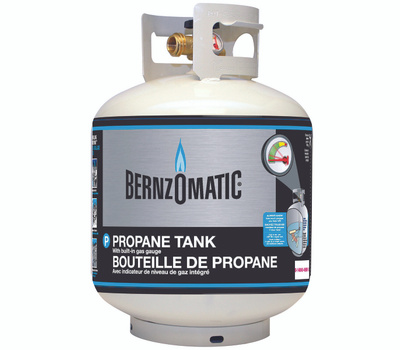 Bernzomatic 308551 Propane 20 Pound Cylinder With Gauge