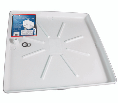 Camco 20752 30 By 32 Inch Wash Machine Drain Pan