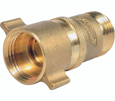 Camco 40055 3/4 Inch Male/Female Brass Water Pressure Regulator