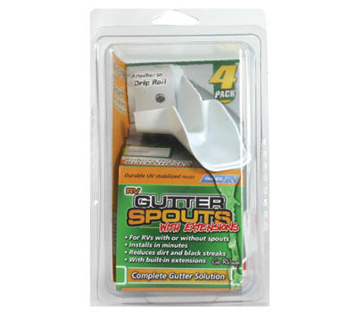 Camco 42134 Gut Spout Extension 4 Pack